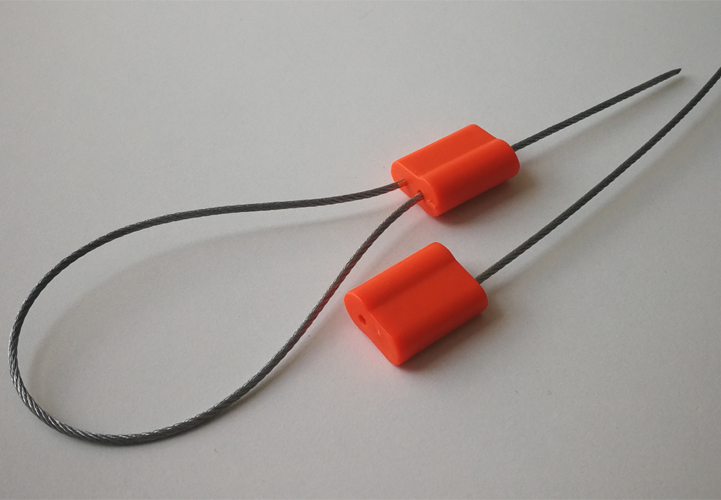 Pull tight cable tie security seal C-164
